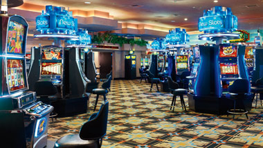 Slot machines at Cactus Petes Resort Casino
